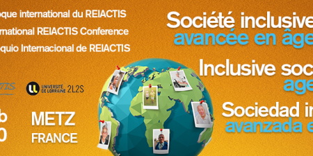 REIACTIS: International symposium from 4th to 6th February 2020 in Metz Métropole